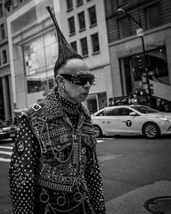 (Damien Sass) Tags: newyorkcity nyc streetphotography urban usa unitedstates people 5thavenue manhattan monochrome man blackandwhite bw bigapple camera ricohgr shadow contrast 28mm