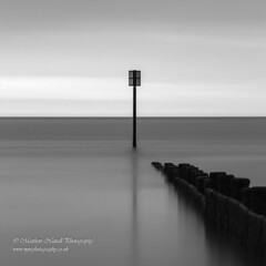Lollipop (Matthew Nuttall Photography) Tags: beach blyth coast coastline groyne le longexposure necoast northeastcoast northumberland sea seascape sunrise water