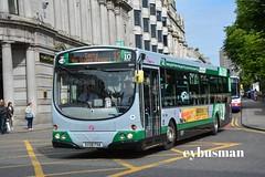 First Aberdeen 69351, SV08FHA. (EYBusman) Tags: first aberdeen grampian bus coach city centre union street scotland wright eclipse urban volvo b7rle platinum 12 69351 sv08fha eybusman