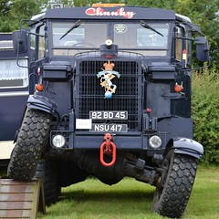 Chunky? Perhaps, but can you do this? (mitchell_dawn) Tags: classic truck vintage offroad explorer lorry britisharmy exmilitary allwheeldrive allterrain scammell reme heavyhaulage royalelectricalandmechanicalengineers birdingburycountryshow
