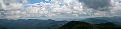 Blue Ridge Mountains from Brasstown Bald (Bella Lisa) Tags: brasstownbald georgia mountain view blueridgemountains clouds vista panorama helengeorgia richardbrussellscenichighway