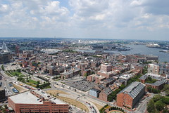 View north from Custom House Tower observation  deck (David Coviello) Tags: boston architecture buildings massachusetts customhouse