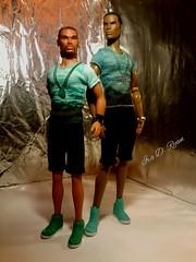Darius and Tariq (krixxxmonroe) Tags: ira d ryan photography krixx monroe styling ooak custom integrity toys fashion royalty tariq darius reid handsome black brown aa male doll models