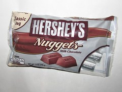 Hershey's Milk Chocolate Nuggets bag (Pest15) Tags: hersheysmilkchocolatenuggetsbag nationalmilkchocolateday milkchocolate bag treat hersheys nuggets candy