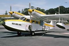 7679 (dannytanner804) Tags: owner sea bea air aircraft grumman g44a super widgeon registrationzkcfa cn1439 off airport in auckland new zealand date 20121982