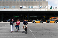 Barcelona-Sants 2014-06-23 (Michael Erhardsson) Tags: barcelona main station 2014 spanien travel railwaystation barcelonasants sants adif estacion estaci