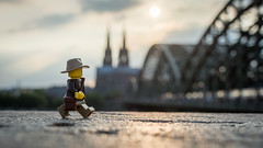 A week in Germany (Reiterlied) Tags: 18 35mm bridge cathedral cologne d5200 dslr dom germany kln lego legography lens minifig minifigure nikon photography prime reiterlied sigfig stuckinplastic toy