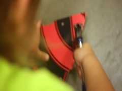 Hammering toddler (Scott SM) Tags: lowes hammer hammering activity toddler 25 two year old statue nail hit