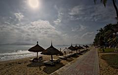 Quiet Nha Trang Beach (mysticislandphoto) Tags: travel viet vietnam nam nhatrang beach landscape