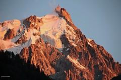 coucher de soleil sur aiguille du midi (jamesreed68) Tags: pic aiguille montagne midi altitude chamonix montblanc