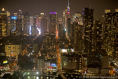 Midtown Manhattan Skyline Aerial at Night (Performance Impressions LLC) Tags: midtown manhattan midtownmanhattan aerial nyc newyorkcity realestate buildings commercial residential night rain citylights lights skyscrapers newyork timessquare unitedstates usa 13892931902
