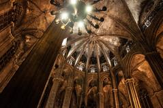 Santa Maria del Mar, Barcelona (Palleraccio) Tags: barcelona barcellona spagna spain santamariadelmar chiesa church gotic gotico nikon d5000 18105vr