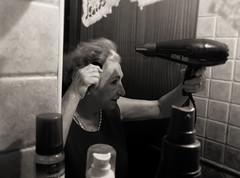 (EricaFaini) Tags: nonna grandmother beauty real life portrait black white bn bw ritratto spontaneous