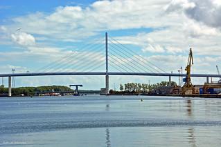 Brug tussen Stralsund en Rügen