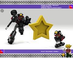Autrox Red Bua 02 (messerneogeo) Tags: messerneogeo robot mech mecha lego autrox red bua