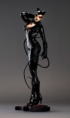 Arkham City Catwoman 1 (Desert Dragon Visual Arts) Tags: adamhughes catwoman dccovergirls statue