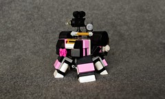 Twank Fanboi (Deltassius) Tags: mf0 mfz frame mech mecha robot twank friends lego space war military