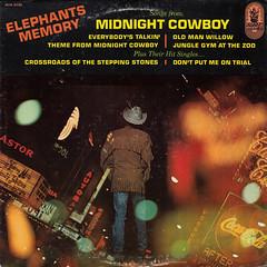 Elephants Memory - Songs from Midnight cowboy plus their hit singles (oopswhoops) Tags: vinyl album psychedelic psyche newyork buddah johnyoko