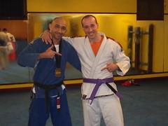 Mikel Minguez Cinturon Morado-Enero de 2011-Cleyton Bastos team