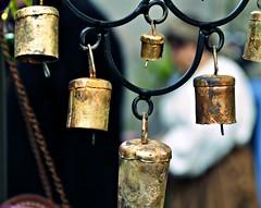 Jingle (Christine Bloom) Tags: closeup feast bells spain nikon little market medieval girona ornament copper canonge d5000