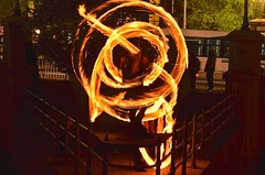 Fire Dancer Preformence