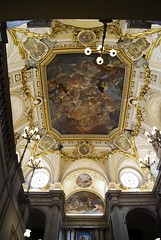 Inside Palacio Real (elyes djazz) Tags: madrid voyage travel roof castle architecture del court real spring spain king sony may drawings courtyard rey palais espagne filippo cours palacio roi iberico juvarra iberique