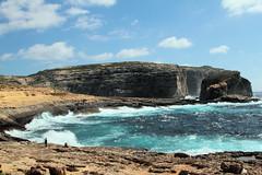 Mareggiata.... (Ernesto Imperato) Tags: canon eos mediterraneo mare malta 7d gozo azurewindow dwejrabay