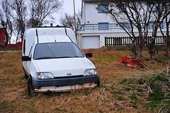 Abandoned Ford (GeirB,) Tags: norway geotagged nice nikon may noruega gps nikkor nordnorge vår vadsø gp1 varanger vadsoe barentsregionen