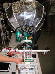 maker-22 (gabriel_flr) Tags: germany hannover electronics raspberry maker robotics automation amateurfunk steampunk basteln arduino niedersachsen lowersaxony makerfaire gabrielflr gabrielflorea unternehmerinnentv