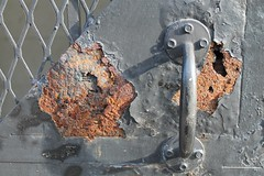 Rusted Gate Lock