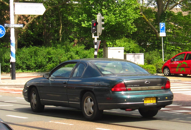 chevrolet montecarlo chevy 1997 carlo monte 31 ls v6 chevroletmontecarlo sidecode5 stfd60