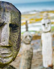 Le Grand Rassemblement (Tracy Munson Photography) Tags: ocean sculpture canada landscape seaside quebec maritime qc artinstallation gaspe gaspepeninsula sainteflavie marcelgagnon legrandrassemblement