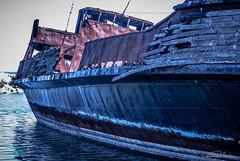 La Grande Hermine - Listing to port. (KWPashuk) Tags: ontario canada water boat nokia ship rusty wreck 1020 lumina jordanharbour lagrandehermine kwpashuk kevinpashuk