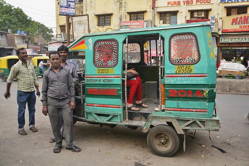 India - Uttar Pradesh - Gorakhpur - Auto Rickshaw - 2