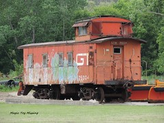 ~Life in General~ 15.05.29 (~Life in General~) Tags: railroad car train outdoors graffiti bed sleep tracks caboose vehicle locomotive past engineer conductor