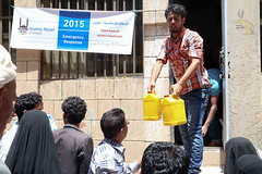 Yemen conflict 2015 - emergency distribution