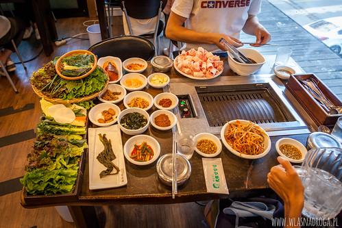 Tradycyjny koreański obiad