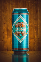 Garage Beer (Ilkka Hakamäki) Tags: life lighting blue orange home beer composite studio photo still nikon aluminum yum garage flash cyan can delicious di setup 28 peel tamron vc 70200 usd lager strobist yongnuo d7000 yn560