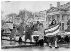 Cuban Students Protest Batista Regime: 1958 (washington_area_spark) Tags: students dc washington cuba protest demonstration castro fidel revolution 1958 cuban anti picket batista imperialist fulgencio