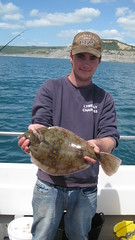 "Lewis Hodder with the Best Flatfish caught in the West Bay Open • <a style=""font-size:0.8em;"" href=""http://www.flickr.com/photos/113772263@N05/18577399791/"" target=""_blank"">View on Flickr</a>"