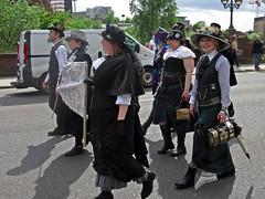 WEF2015 (Bricheno) Tags: festival scotland women glasgow escocia parade wef mardigras westend szkocja goths schottland steampunk scozia 2015 cosse westendfestival  esccia  steampunks  bricheno scoia wef2015