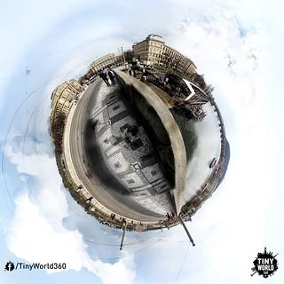 Mánesův most, Prague, Czech Republic // Tiny World 360