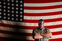 The Patriot (Studio d'Xavier) Tags: flag american luchador luchalibre 365 thepatriot 202366 thelostnation july202016