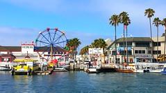 Balboa Island (sfPhotocraft) Tags: ferriswheel balboaisland ferrylanding california orangecounty newportbeach 2016