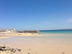 9July19 (Kadekade) Tags: sandy beautiful beach gorgeous day sunny cornwall stives