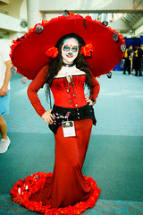 La Muerte (inferno10) Tags: cosplay character convention movie bookoflife