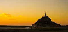 Castle on the Sand (Toms Kim) Tags: france normandy mont stmichel normandie sony a7m2