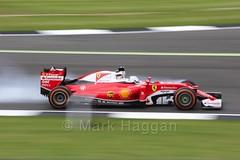 Sebastian Vettel locks up in Free Practice 1 at the 2016 British Grand Prix (MarkHaggan) Tags: fp1 freepractice freepractice1 2016britishgrandprix britishgrandprix2016 f1 formulaone formula1 motorsport motorracing vehicle cars racing silverstone f12016 2016 britishgrandprix british grandprix northamptonshire 08jul16 08jul2016 sebvettel vettel seb sebastian sebastianvettel ferrari ferrarif1 sf16h sf16 scuderiaferrari