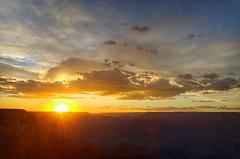 DSC_0049 yavapai point sunset hdr 850 (guine) Tags: grandcanyon grandcanyonnationalpark canyon rocks clouds sunset hdr qtpfsgui luminance