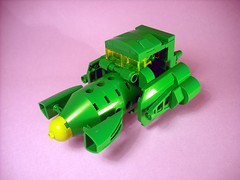 Four little MOCs... (Crimso Giger) Tags: lego moc space ship biotron